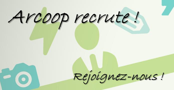 Arcoop recrute !