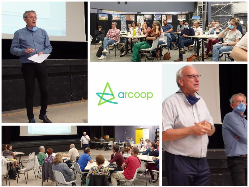 Retour en photos et vidéo sur la journée de rentrée d'Arcoop